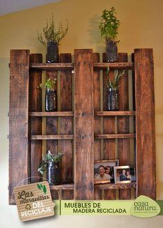 Recycle old wood! Recicla madera vieja #MiCasaNatura #reciclados #upcycle