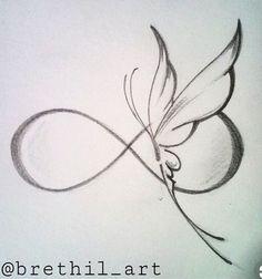 New tattoo designs drawings inspiration tatoo ideas Infinity Tattoos, Wrist Tattoos, Body Art Tattoos, New Tattoos, Tatoos, Infinity Butterfly Tattoo, Infinity Tattoo Designs, Butterfly Tattoos, Infinity Drawings