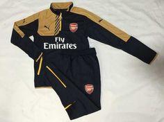 Survetement Black de golden 2015 Arsenal foot 2016 pZwqp