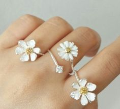 Style Some1 Daisy Flower Ring
