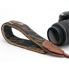 Vintage Cafe Print DSLR Camera Strap *Canon, Nikon, and Sony Compatible Sony Digital Camera, Camera Nikon, Dslr Cameras, Dslr Camera Straps, Cheap Cameras, Vintage Cafe, Brown Shades, Best Camera, Brown Paper