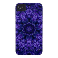 Hydrangea Flower kaleidoscope  iPhone 4 Cover $47.95