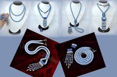 Вязанные жгуты- это моё))) 4 работы (много фото) | biser.info - всё о бисере и бисерном творчестве