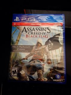 Assassin's Creed IV: Black Flag -- Target Edition  (Sony PlayStation 4, 2013)