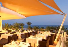 Or having dinner with a view Cyprus Hotels, Patio, Dinner, Outdoor Decor, Beautiful, Home Decor, Dining, Decoration Home, Room Decor