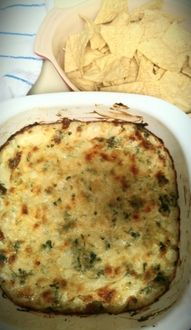 Copycat Applebee's Artichoke and Spinach Dip