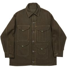 Military Green, Military Jacket, Hunting Jackets, Work Wear, Drill, Menswear, Fashion Outfits, The Originals, Coat