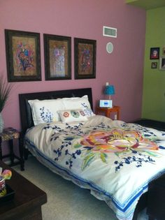 Kristen's Colorful Resort Room Room for Color contest
