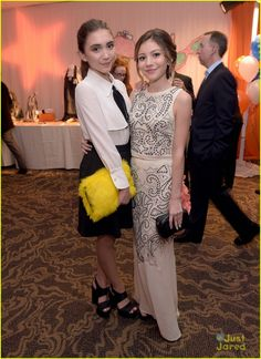Rowan Blanchard and G Hannelius at the Race To Erase MS Gala 2015