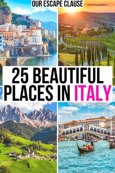 Looking for the most beautiful places in Italy? We've rounded them up here! best places to go in italy | best places to see in italy | beautiful places to visit in italy | italy vacation destinations | travel destinations in italy | italy travel guide | where to go in italy | prettiest places in italy | italy bucket list | bucket list for italy | best things to do in italy | best things to see in italy | prettiest towns in italy | best cities to visit in italy | italy best places to visit |