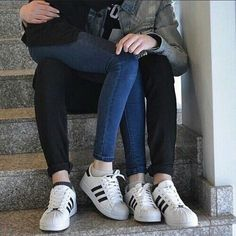 Image about boy in Adidas Superstar👟 by Melanie Couple Goals, Cute Couples Goals, Cute Teen Couples, Daddy Aesthetic, Couple Aesthetic, Relationship Goals Pictures, Cute Relationships, Couple Relationship, Calin Couple