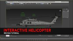 Interactive Helicopter Tutorial in 3DS Max In this tutorial, we will set up interactive controls that allow the animator flexibility to control the rotor speed of a helicopter. We will use float expressions and custom attributes to achieve this goal.