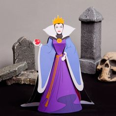 The Evil Queen may not be the fairest in the land, but she's certain to become one of the scariest decorations in your home this Halloween.