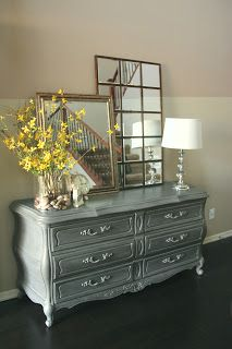 New to You: Antique French Gray Dresser