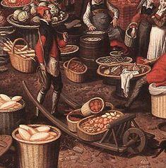 Pieter Aertsen's 1550 market scene