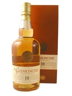 Glenkinchie Scotch 10 Years Old - 750 ml - Smooth, slightly sweet sharp aftertaste