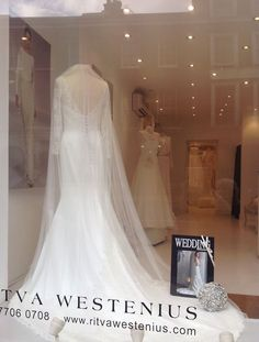 The perfect Wedding Dress Shop to find your beautiful bridal gown! Ritva Westenius