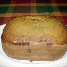 Walnut Blueberry Cake for the Bread Machine