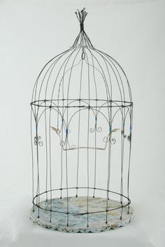 diy wire birdcage - Google Search