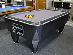 Coin Operated Pool Tables 7 Foot Pool Table, Pool Tables, Pool Table Accessories, Living Room, Table Designs, Home Decor, Ideas, Decoration Home, Room Decor