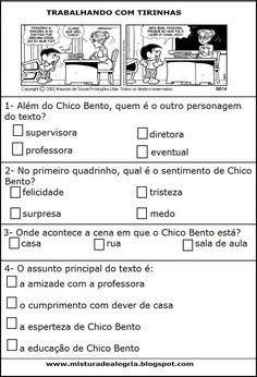 Atividades dos anos iniciais : Tirinhas Portuguese Lessons, Learn Portuguese, Quotes To Live By, Life Quotes, Sistema Solar, Bullying, Quote Of The Day, Vocabulary, Homeschool