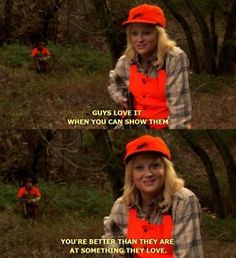 leslie knope: solid dating advice