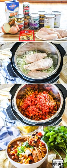 You Have Meals Poisoning More Normally Than You're Thinking That There Is Nothing More Cozy Or Easy To Make Than A Big Bowl Of Pressure Cooker Chicken Chili Made In The Instant Pot. Pressure Cooker Chicken, Instant Pot Pressure Cooker, Pressure Cooker Recipes, Pressure Cooking, Chicken Cooker, Quick Easy Dinner, Easy Dinner Recipes, Dinner Ideas, Crock Pot Cooking