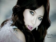 4minute Star: [WALLPAPER] 4minute: Hyuna - want those contacts!