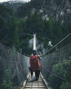 Magnificent mountain adventure.