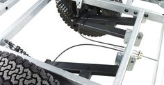 Chaser Adventure Trailer Chassis Suspension Detail | Mechanics | Pinterest | Tear Drop Camper, Trailers and Tear Drops