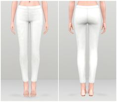 Basic pants for females by Rusty Nail - Sims 3 Downloads CC Caboodle