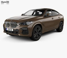 BMW X6 M-sport 2020 3d model from Hum3d.com. Car 3d Model, Uv Mapping, Bmw X6, Car Engine, Audi Rs7, Models, Sport, Youtube, Parts Of The Mass
