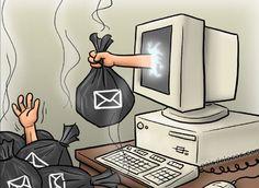 Internet, Marketing, Spam, Blog, Receptor, Home Decor, Carrasco, Cyber, Android