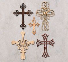 ems Wishlist QuickOrder Latest Catalog Search Home / Wood Patterns / Scroll Saw Designs / Scroll Saw Wall Art / Ornamental Wall Crosses Pattern Set Scroll Saw Wall Art Back to Product List Wooden Crosses, Wall Crosses, Dremel, Cross Symbol, Unity Cross, Scroll Pattern, Free Pattern, Scroll Saw Patterns Free, Wood Carving Patterns