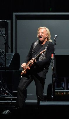 """Joe Walsh of the Eagles performs during """"History Of The Eagles"""" Live In Concertat the Bridgestone Arena on October 16, 2013 in Nashville, Te..."""