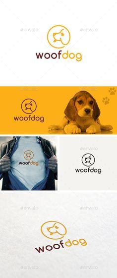 Woof Dog Logo Template - Logo Templates