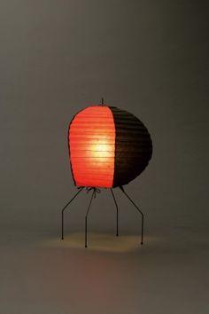 Akari Light Sculpture, UF Series, Model No. UF1-O, Ozeki Lantern Co. Isamu Noguchi.