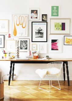 Gallery Walls 101: 7 Ideas For an Artful Arrangement via @domainehome