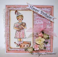 Vanja's Crafty Den / Vanjin kreativni kutak: Sunflowerfield Designs February Digital Release - Birthdays and Sweets Blog Hop!!!