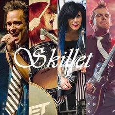 Skillet. The most amazing band ever. <3 Whoever made this is awesome!