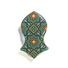 Brooch Pin - Inspired by the Blessed Sandal of Prophet Muhammed Peace be upon Him -Nalain Shareef by ColourMyWall on Etsy https://www.etsy.com/listing/265545122/brooch-pin-inspired-by-the-blessed