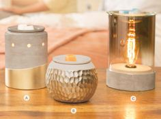 Scentsy Spring 2015 warmers So modern! Get them here: http://madikgraham.scentsy.us
