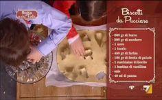 Mescolare il burro ammorbidito con lo zucchero, aggiungere le uova, la panna e poi le farine ...