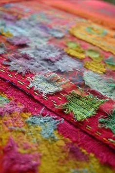 Bobby Britnell - RUTH ISSETT - Layers of Colour and Stitch