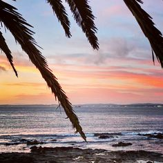 Sunset in Punta del Este, Uruguay