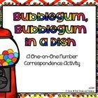 FREE!!! One-on-one correspondence in a counting set is always a hard concept for many of my students. This activity is a simple way to use dollar store fin...