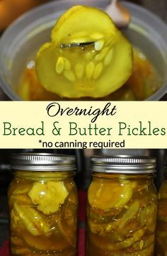 Relish Recipes, Cucumber Recipes, Canning Recipes, Canning Tips, Bread And Butter Pickle Canning Recipe, Bread & Butter Pickles, Canning Pickles, Homemade Sandwich, Refrigerator Pickles