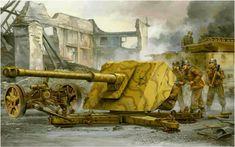 Pak 43-41 Panzerjagerkanone.