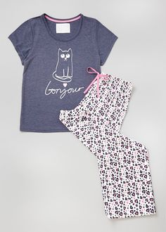 Cat Pyjama Bundle Set - Matalan