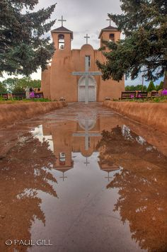 San Francisco De Asis Mission, Taos, New Mexico